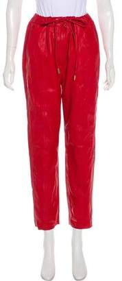 Tommy Hilfiger Leather High-Rise Pants w/ Tags