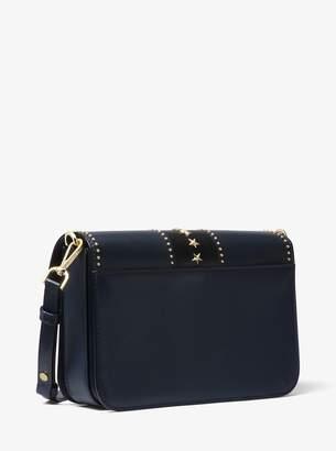 MICHAEL Michael Kors Sloan Editor Studded Leather Shoulder Bag
