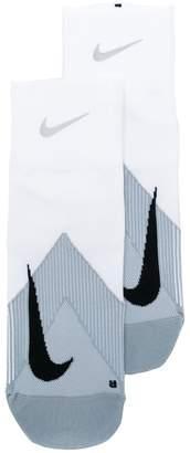 Nike logo socks