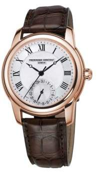 Frederique Constant Classics Manufacture Automatic-Self-Wind Stainless Steel Watch
