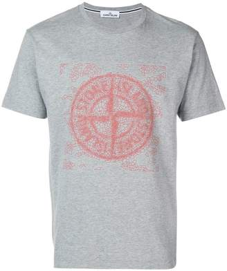 Stone Island graphic logo T-shirt