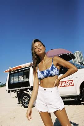 Body Frankie Shirred Scoop Neck Bikini Top