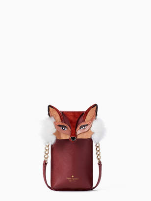 Kate Spade fox phone crossbody