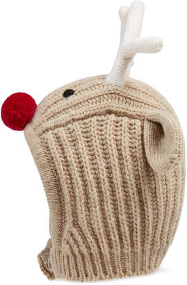Baby knit reindeer hat $295 thestylecure.com