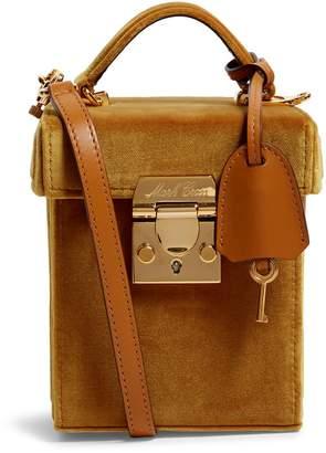 Mark Cross Velvet Grace Cube Bag