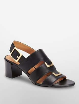 Calvin Klein neda leather sandal
