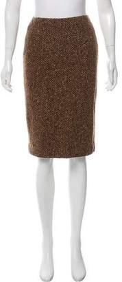 Ralph Lauren Knit Wool Skirt