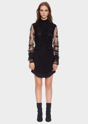Versace Safety Pin Lace Dress
