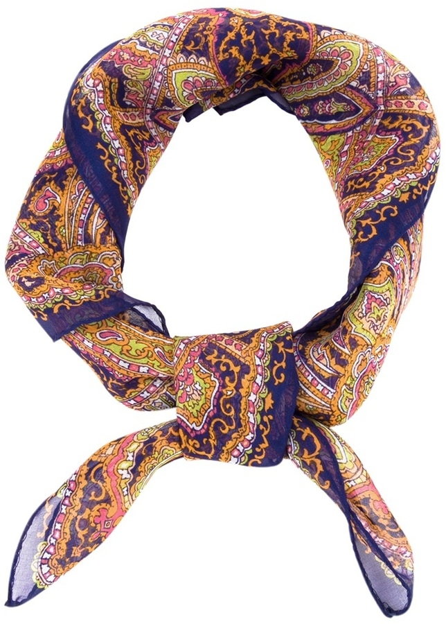 Carven paisley scarf
