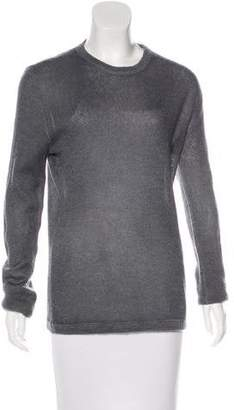 Prada Long Sleeve Crew Neck Sweater