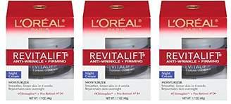 L'Oreal Skin Care Revitalift Anti-Wrinkle Plus Firming Night Cream