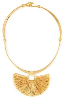 Joelle Gagnard Kharrat - Peacock Gold Plated Necklace - Womens - Gold