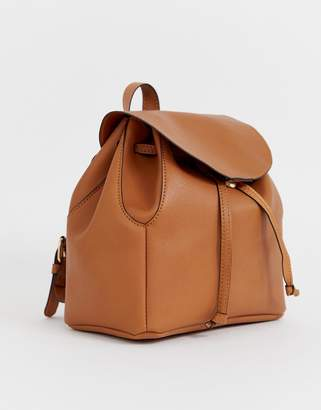 Asos Design DESIGN mini soft minimal backpack