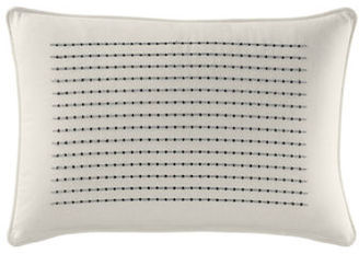 Nautica Caldwell 14X20-Inch Embroidered Breakfast Pillow $55 thestylecure.com