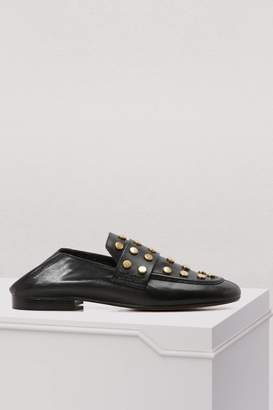 Isabel Marant Leather Feenie loafers