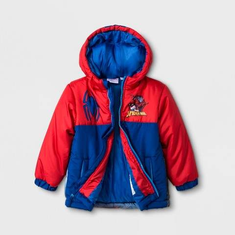 Spider-Man Toddler Boys' Spider-Man Coat - Red