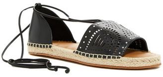 SUSINA Gretchen Laser-Cut Sandal $49.97 thestylecure.com