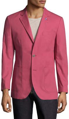 Tailorbyrd Solid Notch Lapel Sportcoat