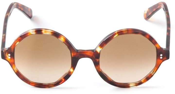 Cutler & Gross tortoiseshell round sunglasses