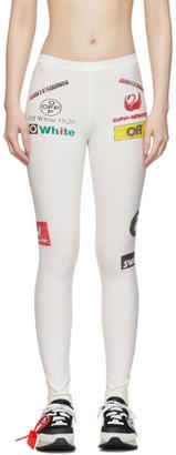 Off-White Multicolor Sporty Leggings