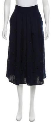 Rachel Comey Embellished Midi Skirt