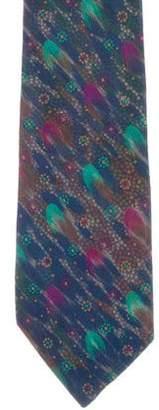 Missoni Abstract Print Silk Tie