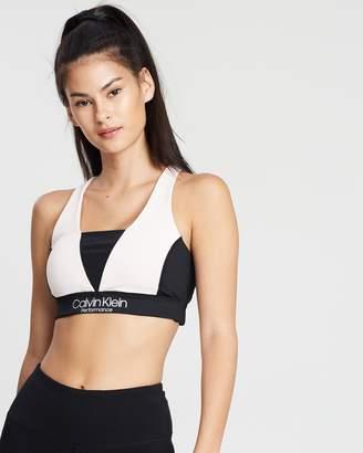 Calvin Klein Colour-Block Sports Bra