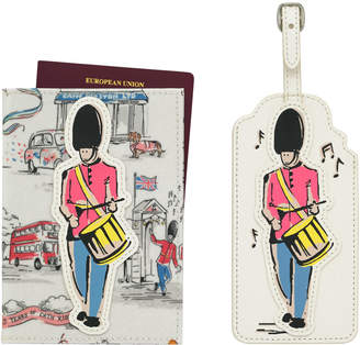Cath Kidston 25th Birthday Guard Passport Holder And Luggage Tag