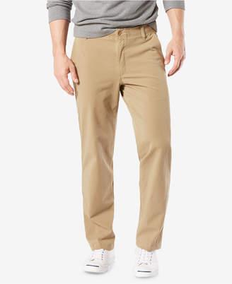 Dockers Men Downtime Straight Fit Smart 360 Flex Khaki Stretch Pants