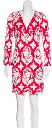 Diane von Furstenberg New Reina Two Silk Mini Dress w/ Tags