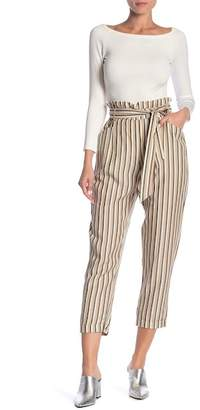 Dress Forum Striped Crop Pants