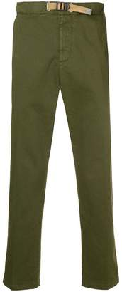 White Sand slim-fit trousers
