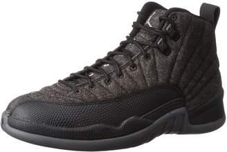 Nike Jordan 12 Wool Dark Grey/MEtallic Silver 852627-003 US