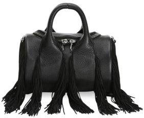 Alexander Wang Mini Rockie Fringe Soft Pebble Leather Handbag