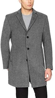 Calvin Klein Men's Prosper Slim Fit Single Breasted Top Coat
