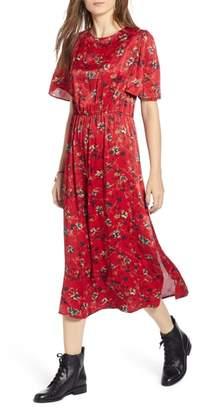 Treasure & Bond Floral Midi Dress