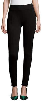 Saks Fifth Avenue BLACK Women's Heathered Pull-On Pants