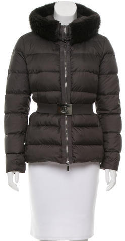 Moncler Moncler Fur-Trimmed Fabreges Jacket