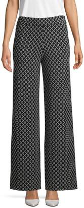 Saks Fifth Avenue Geometric-Print Pants