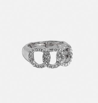 Avenue Entwined Circle Stretch Ring