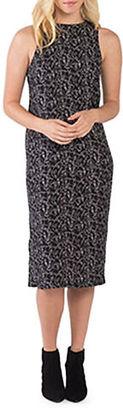 Kensie Doodle Faces Dress $79 thestylecure.com