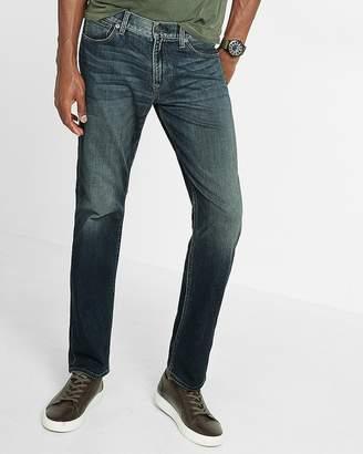 Express Slim Straight Dark Wash 365 Comfort Stretch+ Jeans