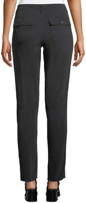 Go Silk Go Get Cleaned Up Skinny Silk Pants