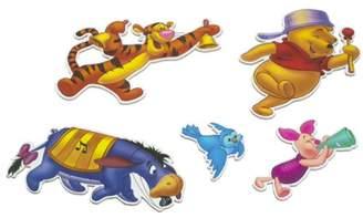 Disney Pooh Five - Piece Musical Wall Art