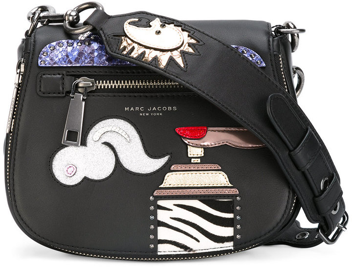 Marc Jacobs Marc Jacobs patch detail tote