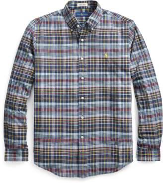 Ralph Lauren Standard Fit Madras Shirt