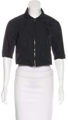 Lida Baday Cropped Zip-Up Jacket