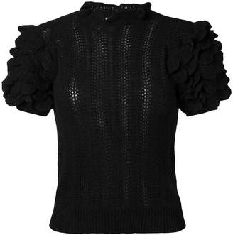 Ulla Johnson short-sleeved cashmere sweater