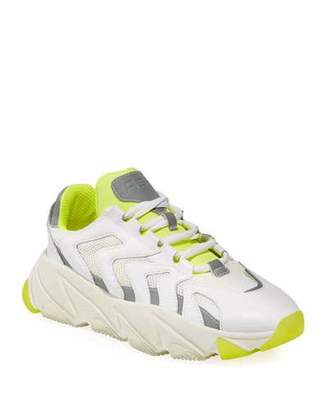 Ash Extreme Reflective Lace-Up Sneakers