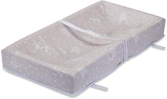 """L.A. Baby Savannah Waterproof 4 Sided Changing Pad, 32"""" - Made in USA. Easy to Clean Cover w/ Non-Skid Bottom, Safety Strap, Fits All Sdard Changing Tables for Best Infant Diaper Change"""